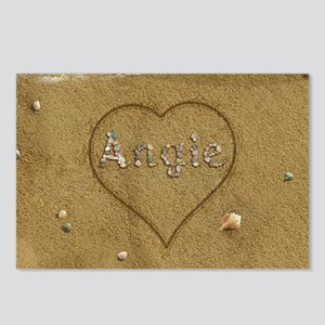 Angie Beach Love Postcards (Package of 8)