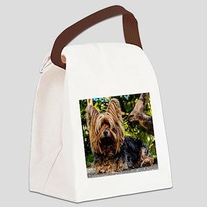 Yorkiiieeee Canvas Lunch Bag