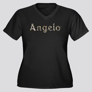 Angelo Seashells Plus Size T-Shirt