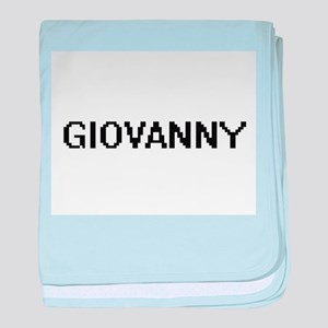 Giovanny Digital Name Design baby blanket