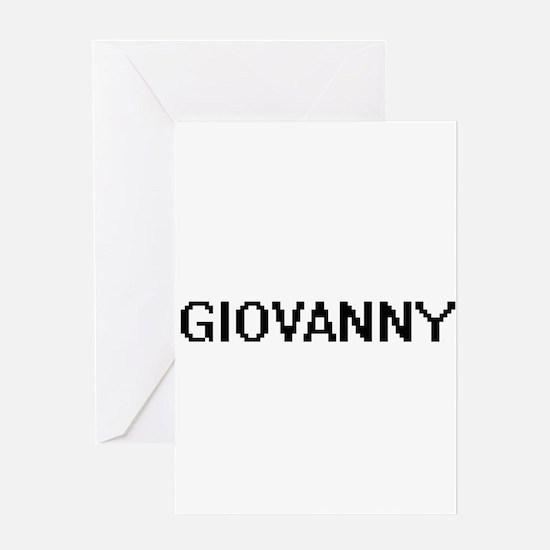 Giovanny Digital Name Design Greeting Cards