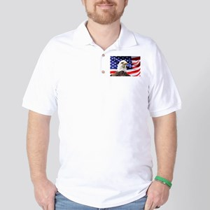 Bald Eagle Golf Shirt