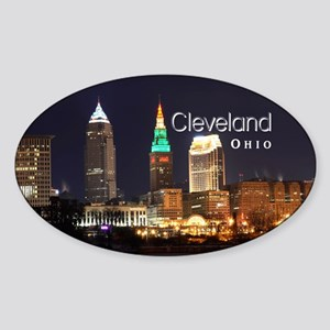Cleveland Sticker (Oval)