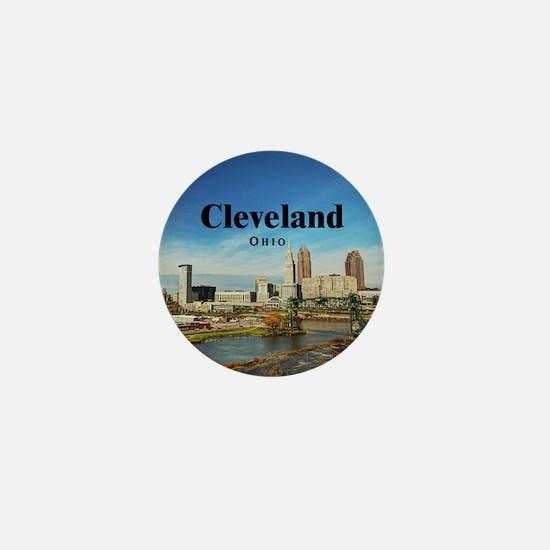 Cleveland Mini Button (10 pack)