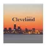Cleveland Tile Coaster