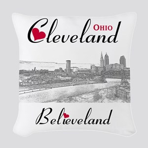 Cleveland Woven Throw Pillow