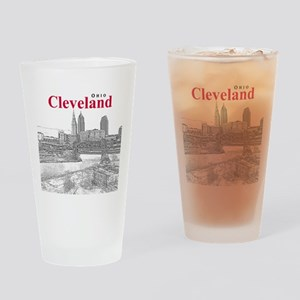 Cleveland Drinking Glass