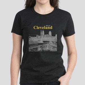 Cleveland Women's Dark T-Shirt
