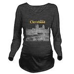 Cleveland Long Sleeve Maternity T-Shirt