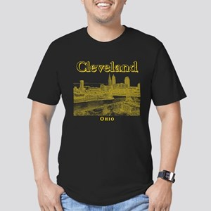 Cleveland Men's Fitted T-Shirt (dark)