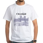 Cleveland White T-Shirt