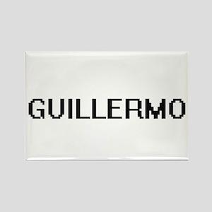 Guillermo Digital Name Design Magnets