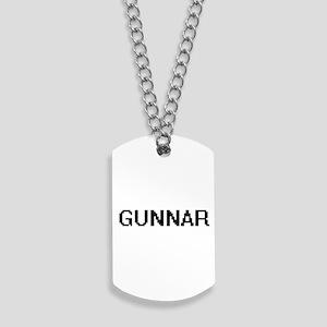 Gunnar Digital Name Design Dog Tags