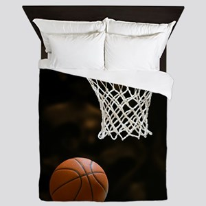 Basketball Ball Queen Duvet