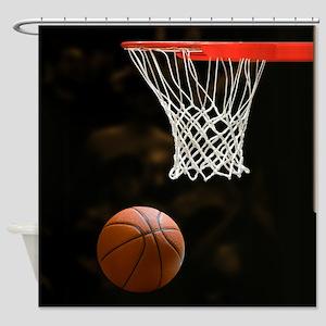Basketball Ball Shower Curtain