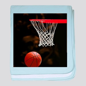Basketball Ball baby blanket