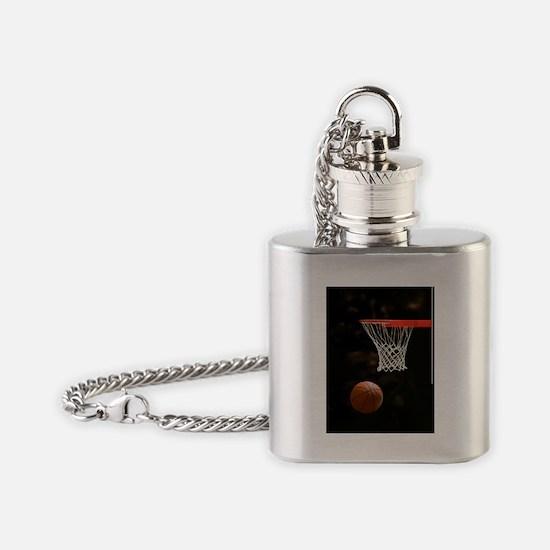 Basketball Ball Flask Necklace