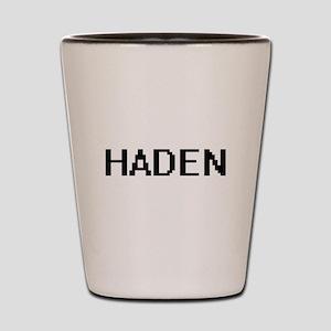 Haden Digital Name Design Shot Glass