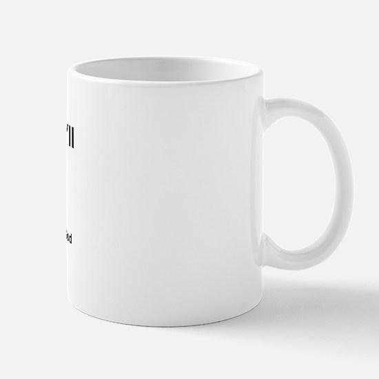 Worship me or else Mug
