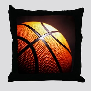 Basketball Ball Throw Pillow
