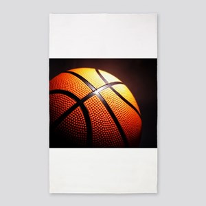 Basketball Ball Area Rug