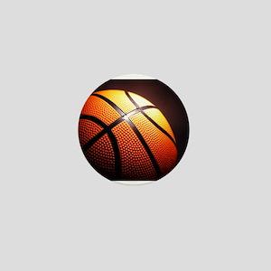 Basketball Ball Mini Button