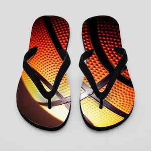 Basketball Ball Flip Flops