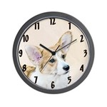 Pembroke Welsh Corgi Wall Clock