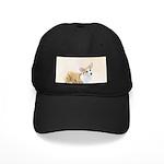 Pembroke Welsh Corgi Black Cap with Patch