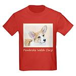Pembroke Welsh Corgi Kids Dark T-Shirt