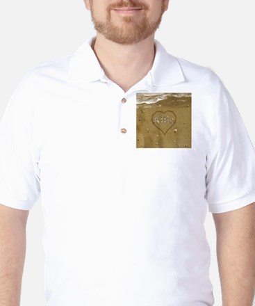 Allie Beach Love Golf Shirt