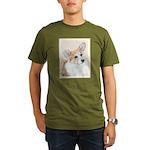 Pembroke Welsh Corgi Organic Men's T-Shirt (dark)