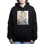 Pembroke Welsh Corgi Women's Hooded Sweatshirt