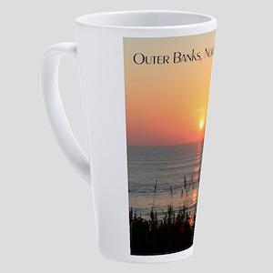 Outer Banks Sunrise 17 oz Latte Mug