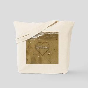 Alissa Beach Love Tote Bag