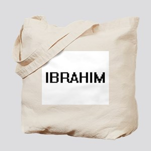 Ibrahim Digital Name Design Tote Bag
