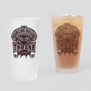 Brawling Bulldog Tavern Drinking Glass