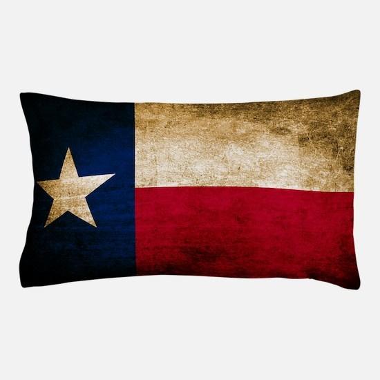 Vintage Flag of Texas Pillow Case