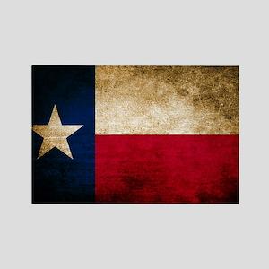 Vintage Flag of Texas Magnets