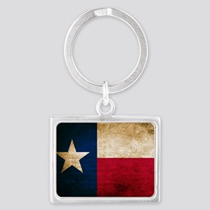 Vintage Flag of Texas Keychains