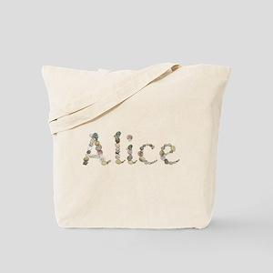 Alice Seashells Tote Bag