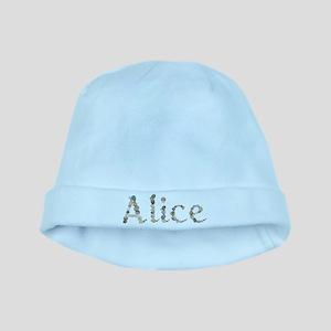 Alice Seashells baby hat