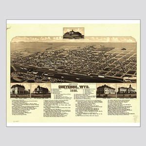 Cheyenne, Wyoming, 1882. Small Poster