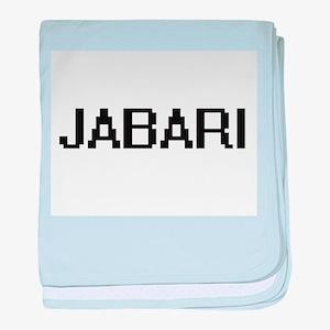 Jabari Digital Name Design baby blanket