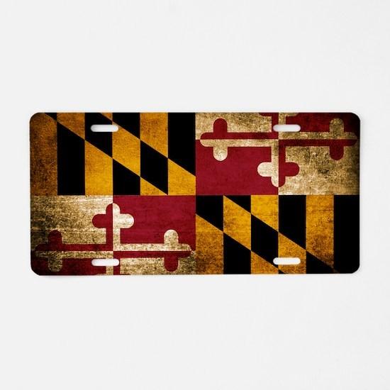 Cute Maryland Aluminum License Plate