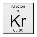 36. Krypton Tile Coaster