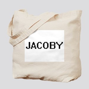 Jacoby Digital Name Design Tote Bag