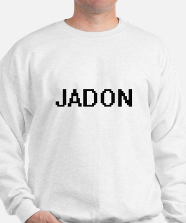 Jadon Digital Name Design Sweatshirt