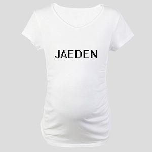 Jaeden Digital Name Design Maternity T-Shirt