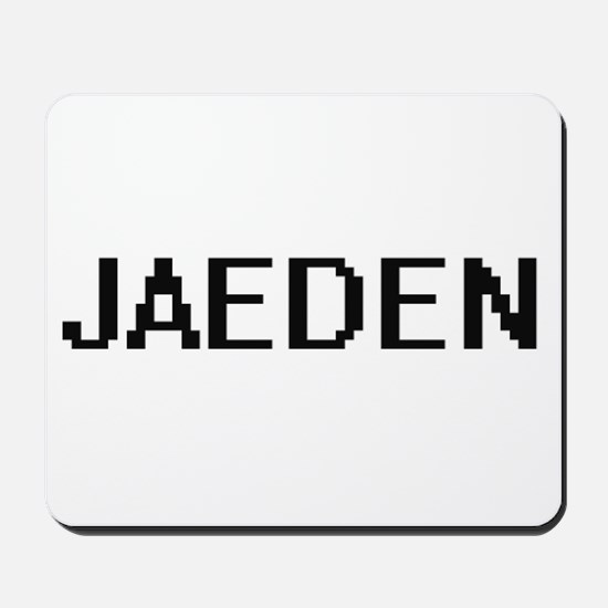 Jaeden Digital Name Design Mousepad